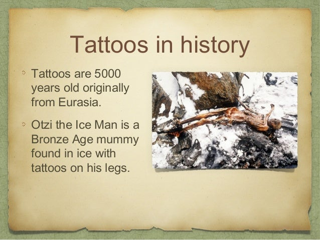 All About Tattoos Slide 2