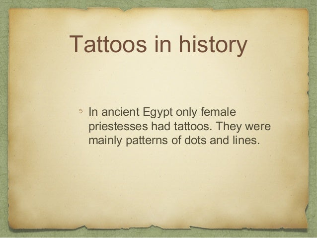 All About Tattoos Slide 3