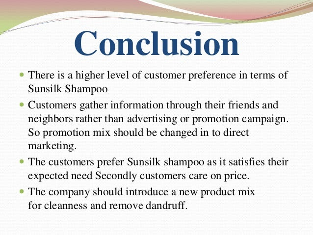 sunsilk shampoo project Swot analysis of sunsilk is covered on this page along with  sunsilk swot analysis, usp & competitors posted in  personal hair care shampoo available in.