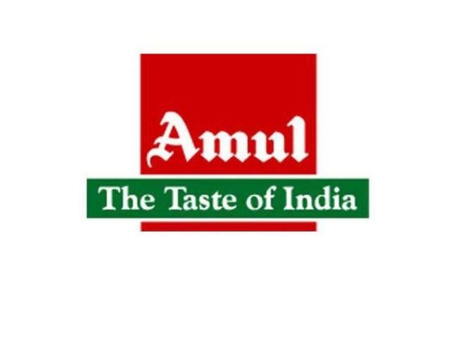 Case study of amul products for bcg group