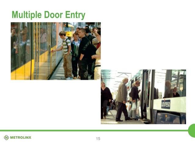 Functional Design Presentation At Grade Section Don Mills