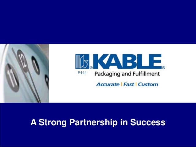 F444A Strong Partnership in Success