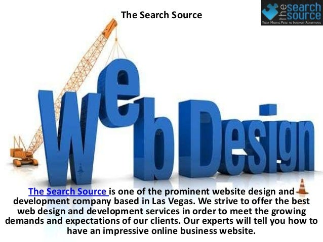 The Search Source    The Search Source is one of the prominent website design and development company based in Las Vegas. ...
