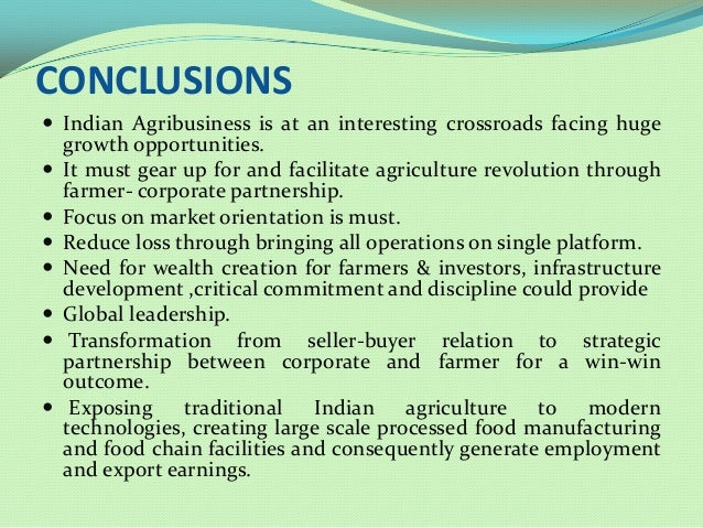 value addition and processing of agri-products