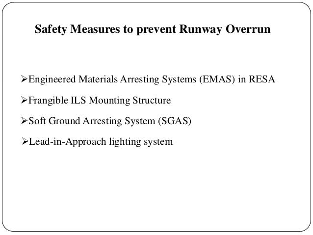 Safety Measures For Table Top Runway Of Mangalore Airport
