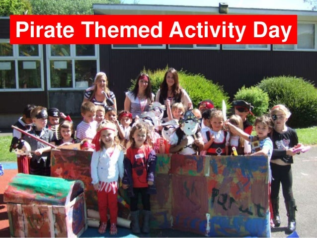 Pirate Themed Activity Day