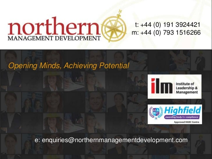 t: +44 (0) 191 3924421<br />m: +44 (0) 793 1516266<br />Opening Minds, Achieving Potential<br />e: enquiries@northernmanag...