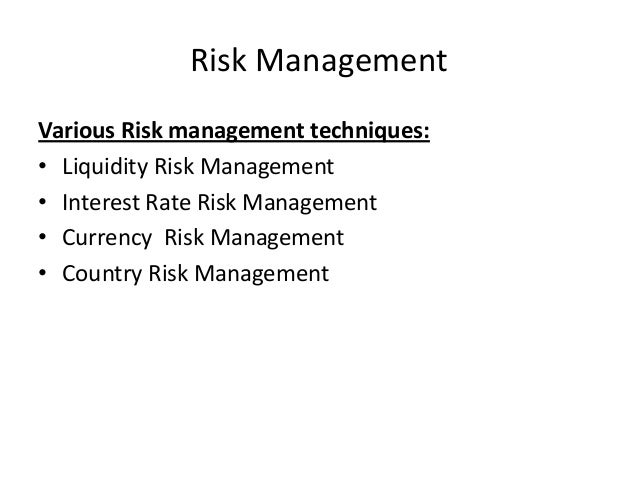 currency risk management in indian banks The list of underlying notifications  ad category i banks are expected to manage the option portfolio within the reserve bank approved risk management limits f) ad banks may quote  foreign currency-indian.