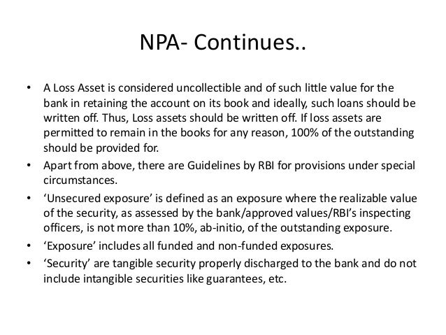 Non-Performing Assets (NPA): How serious is India's bad loan problem?