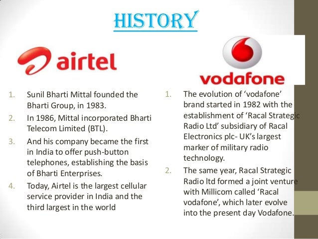 airtel vs vodadone The next best operator in chennai is vodafone airtel ltd brings up the rear, worse than even the public sector operator bsnl click here for enlarge.