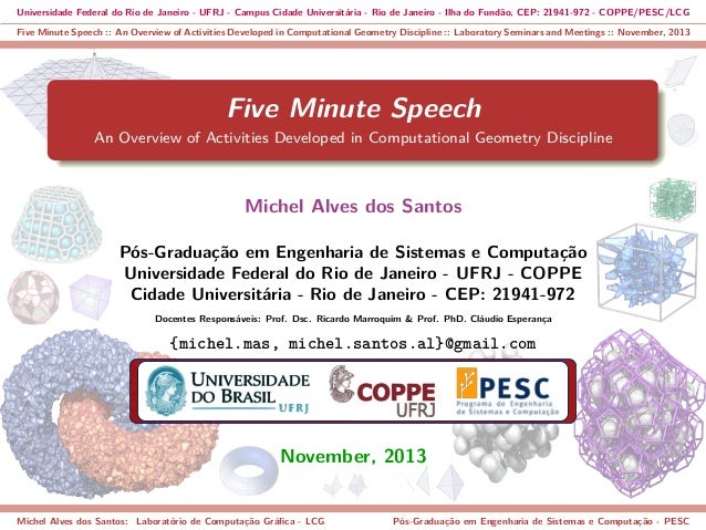 Universidade Federal do Rio de Janeiro - UFRJ - Campus Cidade Universitária - Rio de Janeiro - Ilha do Fundão, CEP: 21941-...