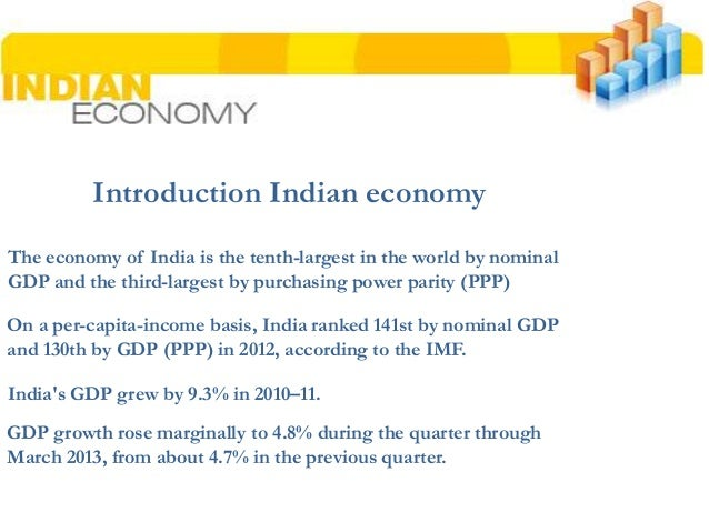 introduction to indian economy 20(a) introduction indian economy - view presentation slides online.