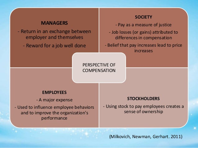 milkovich and newman compensation The text examines the strategic choices in managing compensation  george  milkovich and jerry newman, viewed as leading researchers and authorities in .