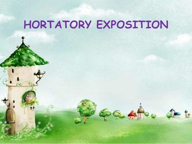 Hortatory Exposition