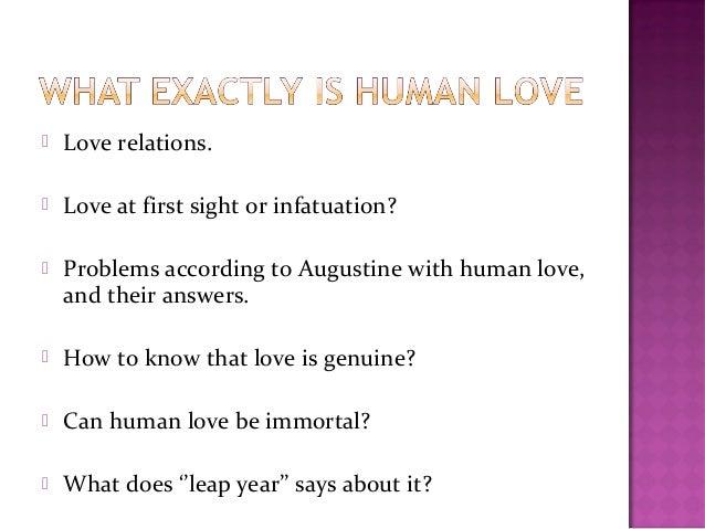 love comparisons