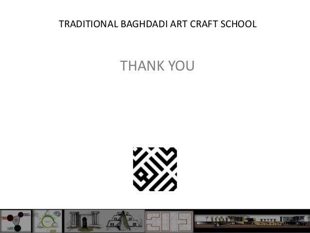 Traditional Baghdadi Art Crafts School Presentation