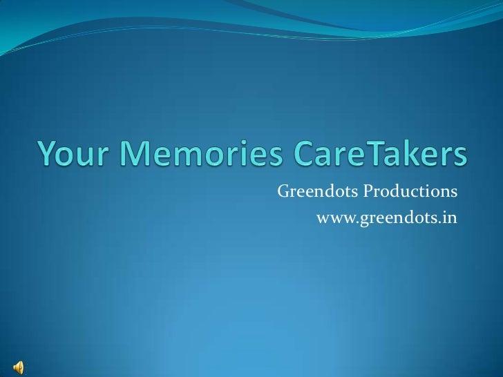 Greendots Productions    www.greendots.in