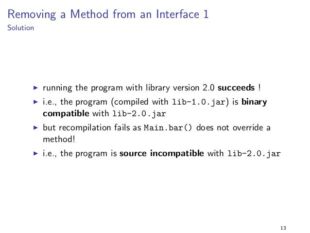 ned in a  separate library  I cd to folder and run ant as follows:  ant -Dpackage=aPackage  I this will do the following: ...