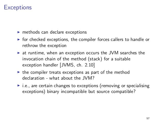 Primitive vs Wrapper Types 2  Solution  I running the program with library version 2.0 fails !  I the descriptors have die...