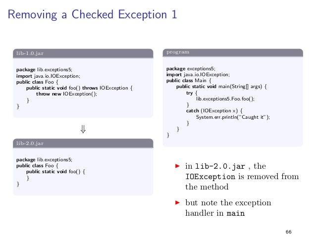 Constants 1  lib-1.0.jar  package lib.constants1;  public class Foo f  public static