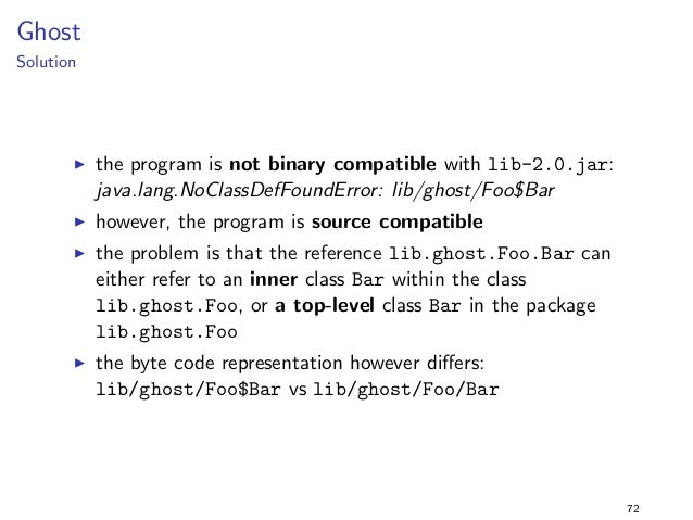 nal String MAGIC = 43;  g  program  package constants2;  import lib.constants2.;  public class Main f  public static void ...