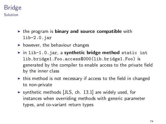 Constants 3  lib-1.0.jar  package lib.constants3;  public class Foo f  public static