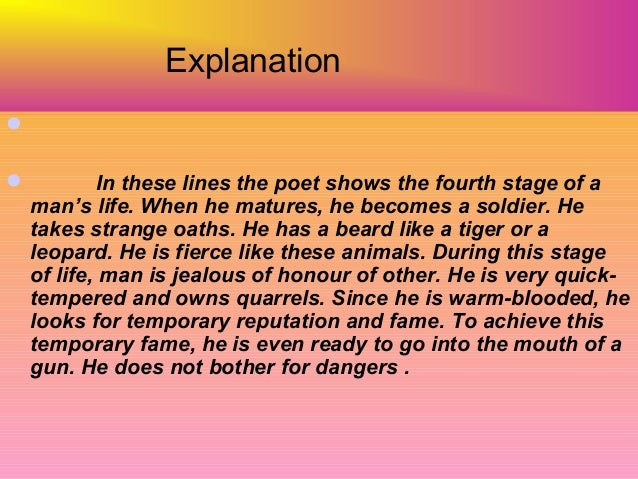 An analysis of the topic of the poem the world corrodes