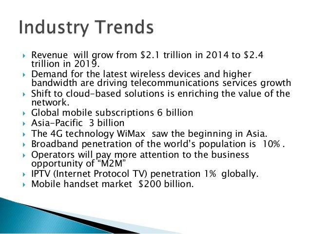 Telecom Presentation Slide 2