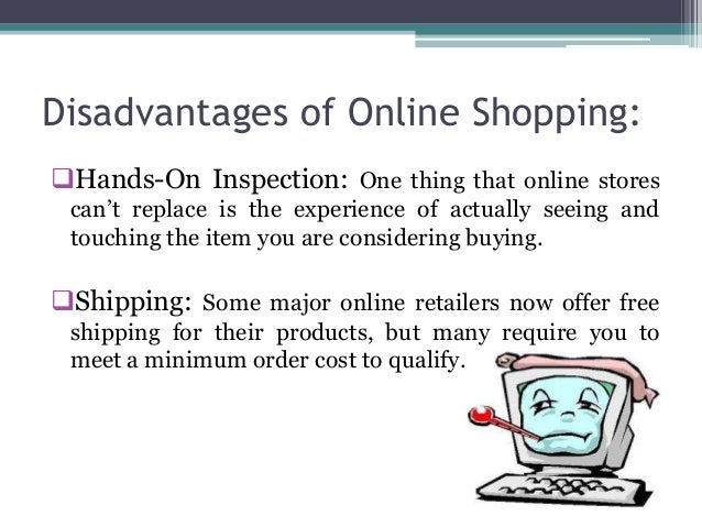 online shopping vs. in-store shopping essay The ability to ask store associates questions ranks fairly low on the list of reasons to shop in stores vs online, however, and was cited by just 13% of consumers.