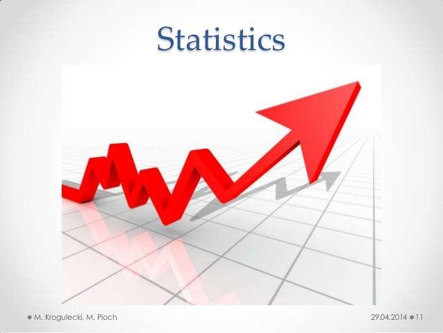 29.04.2014M. Krogulecki, M. Pioch 11 Statistics