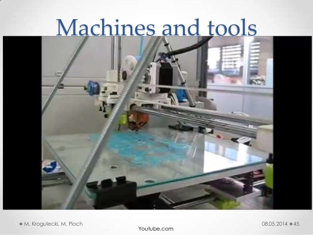 08.05.2014M. Krogulecki, M. Pioch 45 Machines and tools Youtube.com