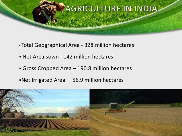 • Acquiring more land area for cultivation purpose • Expanding irrigation facilities • Use of improved and advanced variet...