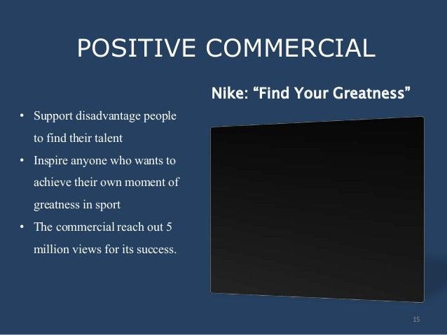 positive impact of advertisement