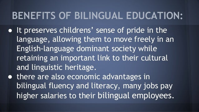 why bilingual education is a complex topic The case against bilingual education why even latino parents are rejecting a program designed for their children's benefit which is more complex than chess.