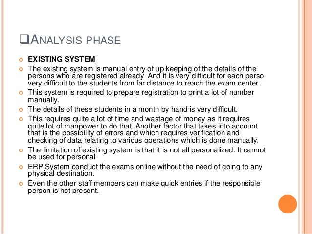 Erp On School Management System