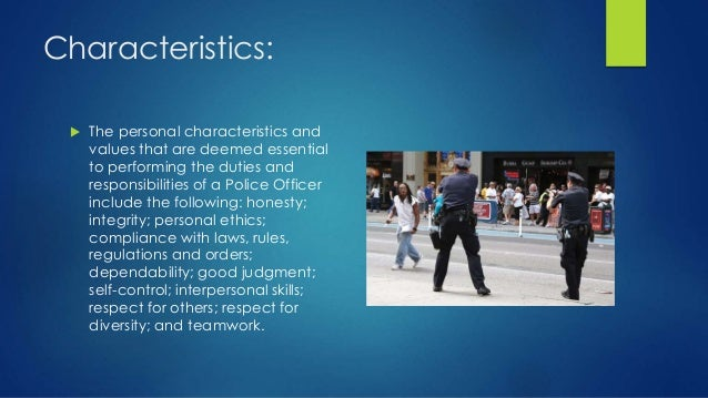 4 studies police officer