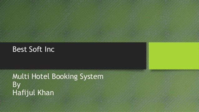 Free demo of Hotel booking software