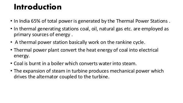 Presentation on thermal power plant Slide 3