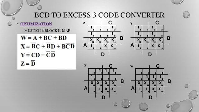 bcd to excess 3 code convertor Implementation of bcd to excess-3 code convertor ritu ashok gupta rait navi-mumbai rg140593@gmail com gayatri katkar rait navi-mumbai gayatrigkatkar@g mailcom snehal kadam rait navi-mumbai.