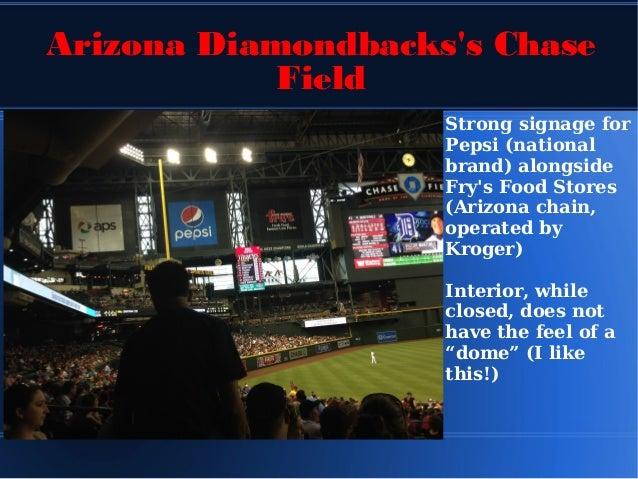 A Sportsbiz Trip Around Chase Field Home Of The Arizona