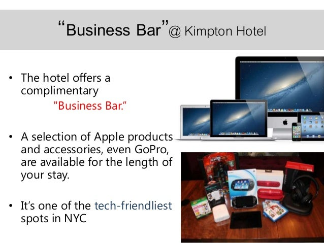 Presentation  hospitality and tech