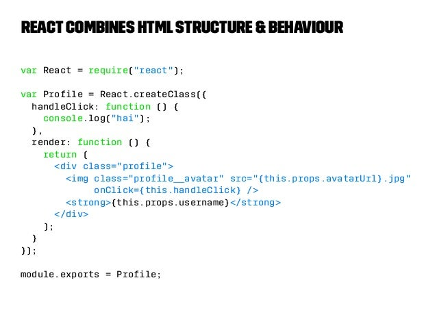 That's a big dirty lie  The component's CSS is one of its  concerns, but it's off in some random  other file.  components/...