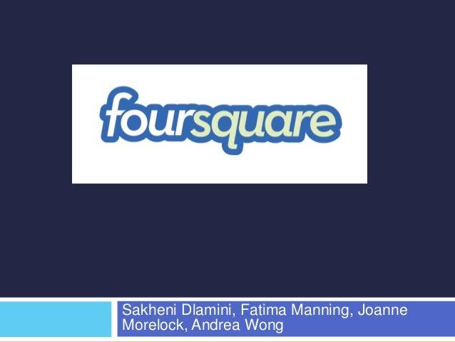 Sakheni Dlamini, Fatima Manning, Joanne  Morelock, Andrea Wong