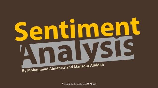 A presentation by M. Almenea, M. Albidah