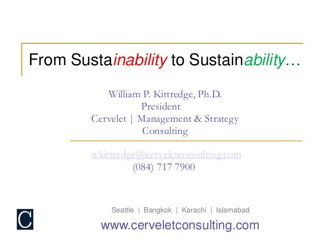 What's the purpose of sustainability reporting?
