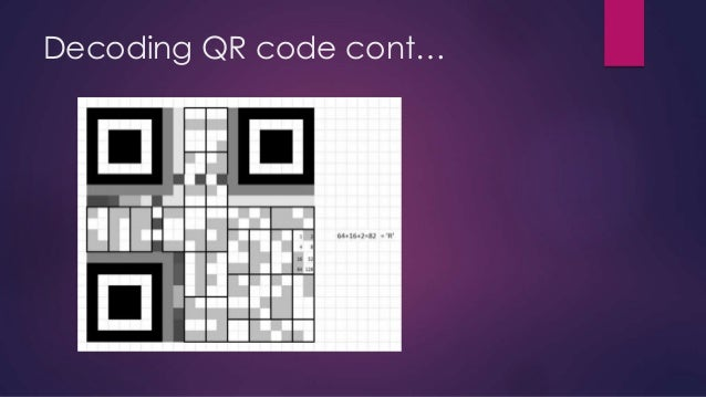 A low pre processing system for low quality QR code