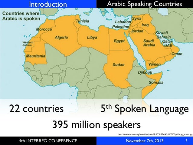 A Gamification Framework For Native Arabic Speaking Countries - Language speaking countries