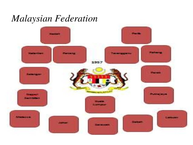 federalism in malaysia Federal systems of the world: a handbook of federal, confederal and autonomy arrangements introduction daniel j elazar even if only a few do so through formally federal systems as in india, malaysia, nigeria, and pakistan.