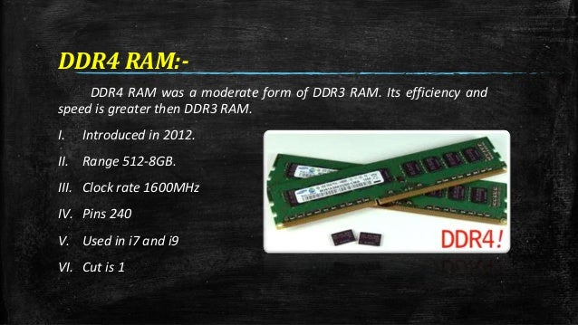 Ram and its types