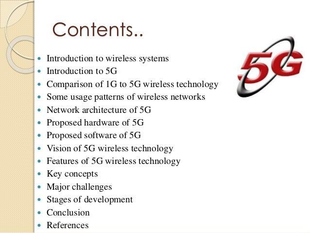 Seminar Presentation On 5g